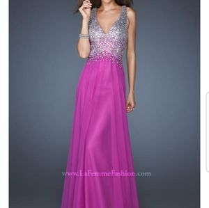 La Femme prom/ pageant dress